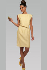 Asymmetrical Dress - Raffia