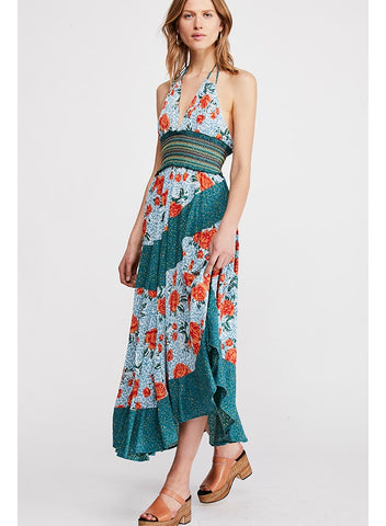 FREE PEOPLE-GABRIELLE SLIP DRESS