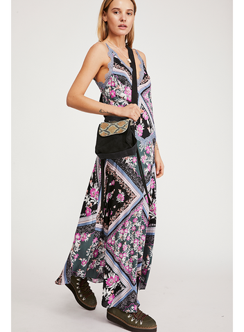 FREE PEOPLE-STEVIE PRINTED MAXI DRESS