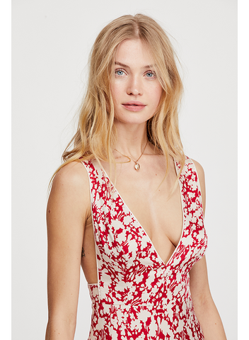 FREE PEOPLE-OH LA LA BIAS DRESS