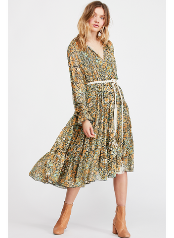 FREE PEOPLE-FEELING GROOVIE MAXI