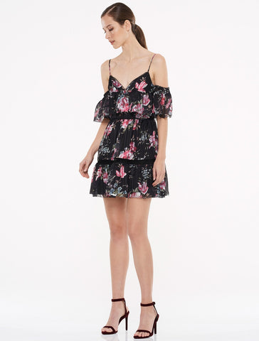 TALULAH-BELONGING MINI DRESS