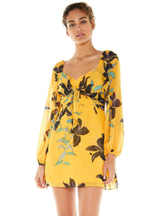 TALULAH-DAYLILY MINI DRESS