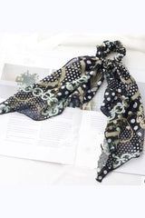 Hair Scarf Scrunchies Ponytail Beautiful Colorful Modern Design