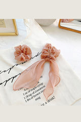 Hair Scarf Scrunchies Ponytail Beautiful Soft Colors