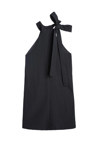 Halter Neck Butterfly Ties Dress