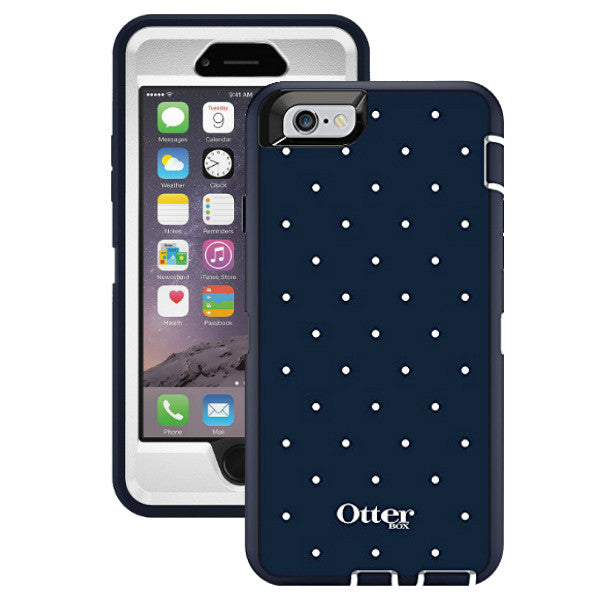 separation shoes f1688 7df7a OtterBox Defender GRAPHICS Case for Apple iphone 6 - Classic Dots