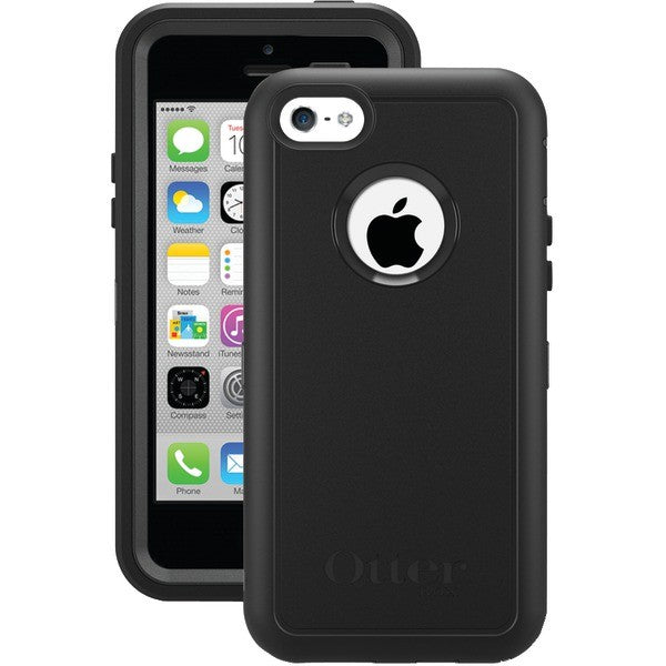 free shipping 657f9 3605f OtterBox Defender Series Case with for iPhone 5c - Black