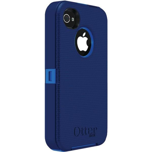 best sneakers ca391 d762a OtterBox Defender Series Case with Holster for iPhone 4/4s (Blue)