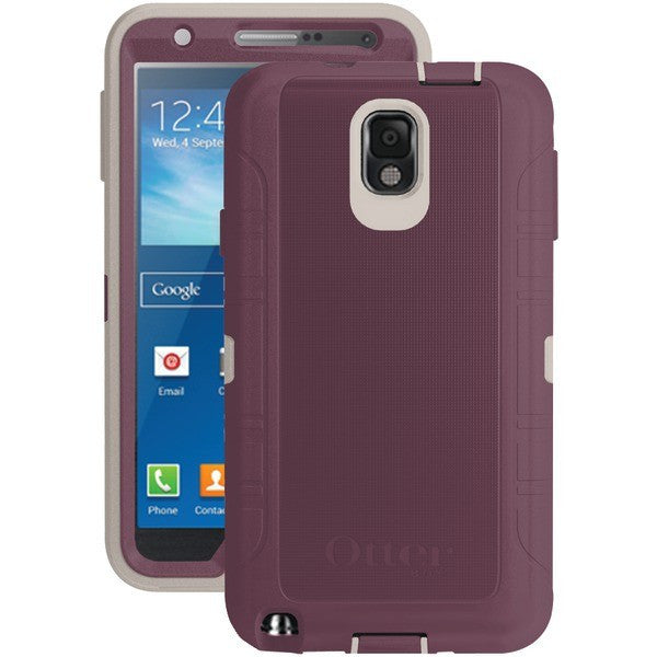 hot sale online 22407 cd19f OtterBox Defender Series Case with Holster for Samsung Galaxy Note 3  (Merlot)