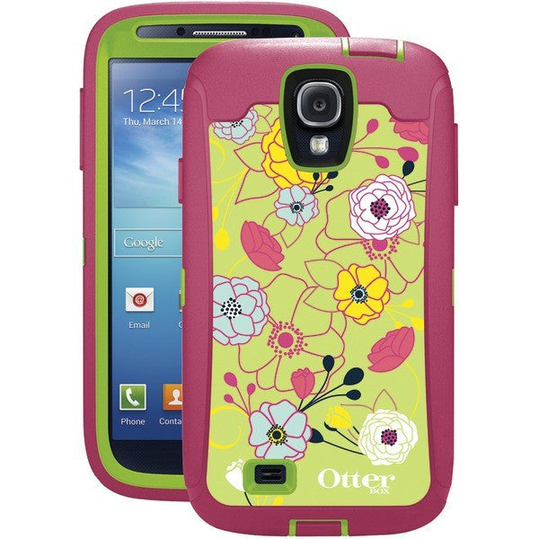 quality design 50a9e 3dcde OtterBox Defender Series Case with Belt Clip Holster for Samsung Galaxy S4  (Eden)