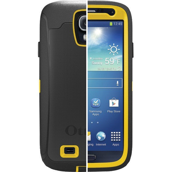 sports shoes cf4af 0c931 OtterBox Defender Series Case with Belt Clip Holster for Samsung Galaxy S4  (Hornet)