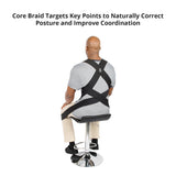 Core Braid Posture Support For Better Posture and Coordination