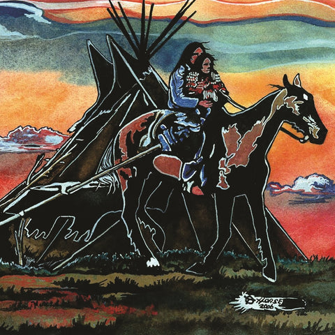 Thurman Horse #2 - Giclee' Prints & Ceramic Tiles