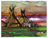 Thurman Horse #3 - Giclee' Prints & Ceramic Tiles