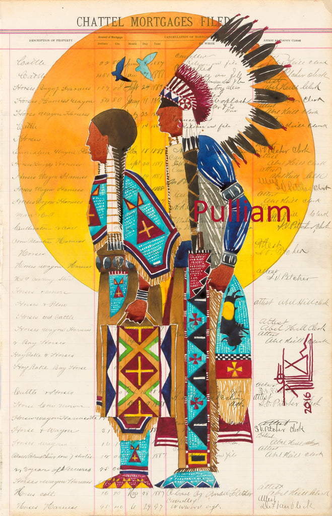 Sioux Union Man Woman