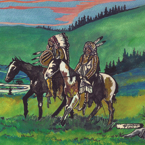 Thurman Horse #10 - Giclee' Prints & Ceramic Tiles