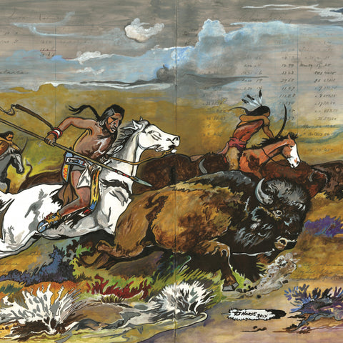 Thurman Horse #15 - Giclee' Prints & Ceramic Tiles
