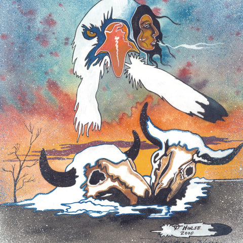 Thurman Horse #16 - Giclee' Prints & Ceramic Tiles