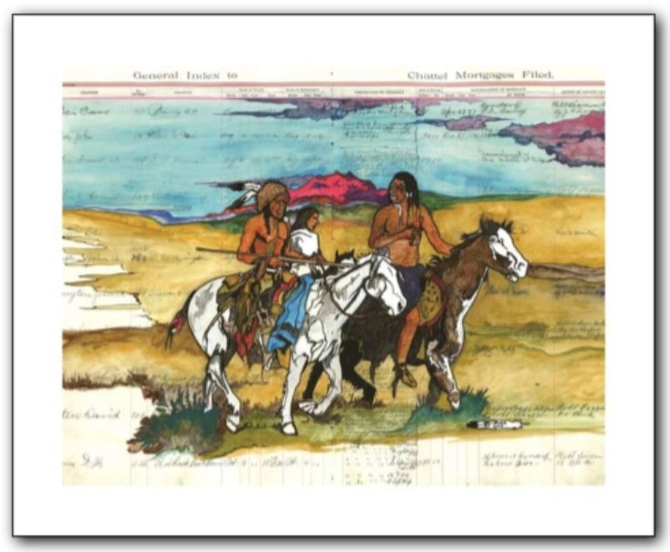 Thurman Horse #17 - Giclee' Prints & Ceramic Tiles