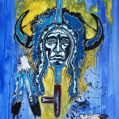 Thurman Horse #24 - Original Canvas, Giclee' Prints & Ceramic Tiles