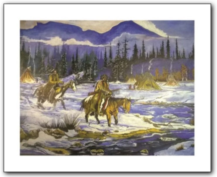 Thurman Horse #20 - Giclee' Prints & Ceramic Tiles