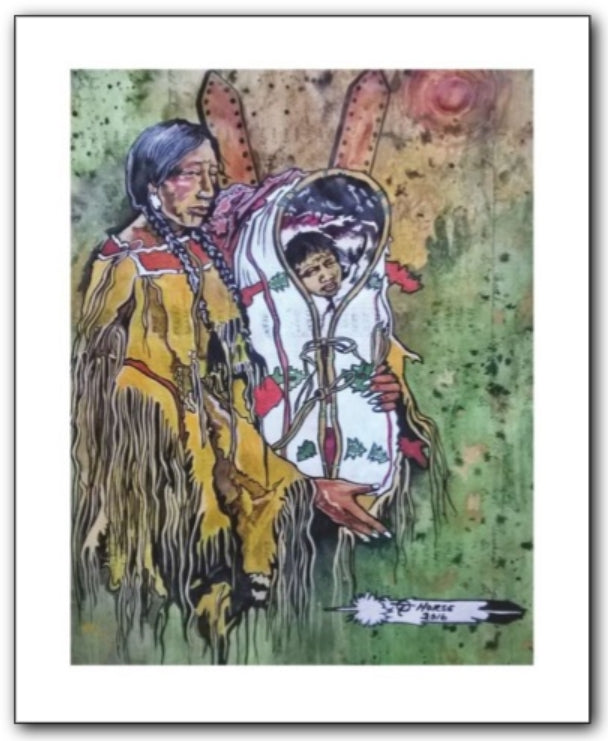 Thurman Horse #21 - Giclee' Prints & Ceramic Tiles