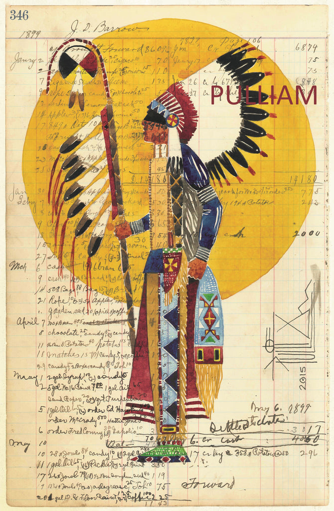 Oglala Lakota Ledger Art Smithsonian