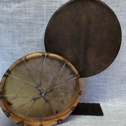 "13"" Buffalo Hide Hand Drums"