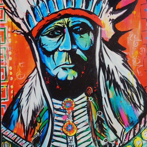 Greeting Cards - Chief Series - 4 Designs