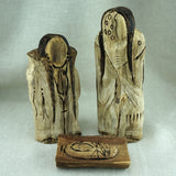 Authentic Lakota Carved Wood Cottonwood