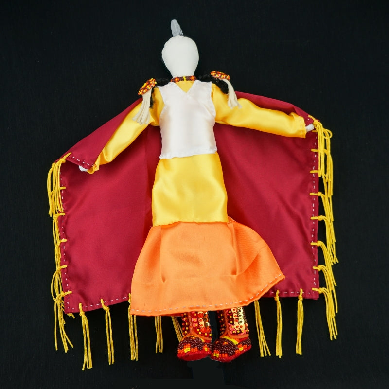 Fancy Dancer Doll - Sunset