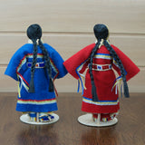 Traditional Buckskin Dolls - Jingle Dancer