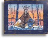 Frames for Ceramic Tiles by Thurman Horse