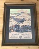 Framed Grand Canyon Poster