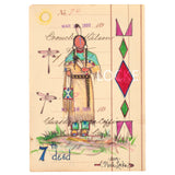 Original Ledger Art - 7th Deed