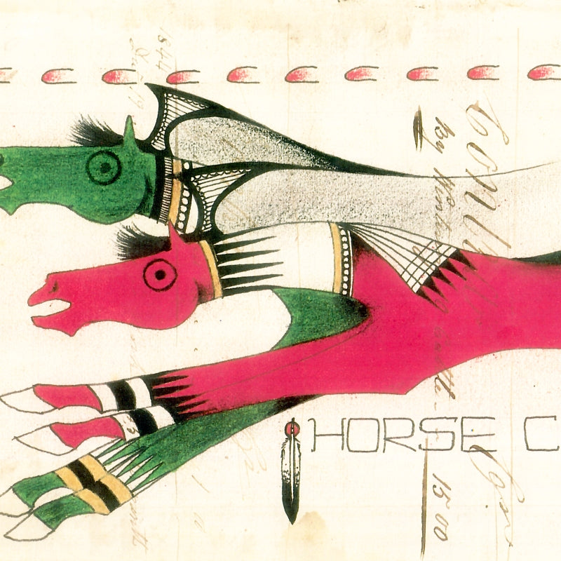 Horse Culture Ledger Flammonds