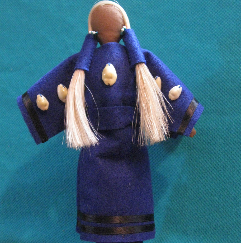 Hudson Bay Trader Doll - Blue