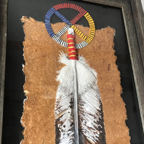Original Painting - Eagle Feather