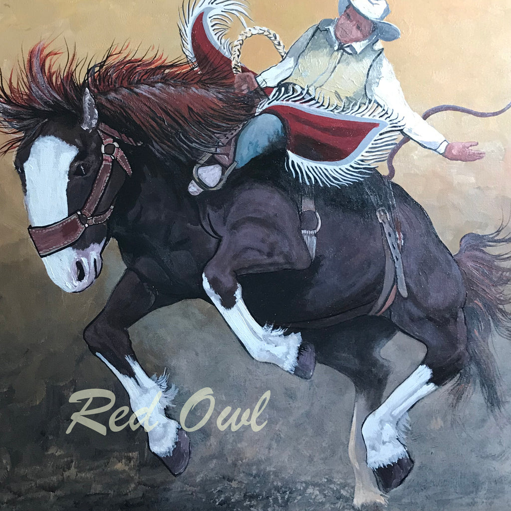 Original Painting - Riding High