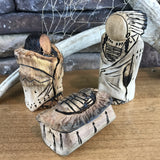 Carved Cottonwood Smallest Three-Piece Nativity