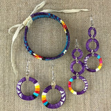 Red Cloud Quillwork - Purple Collection
