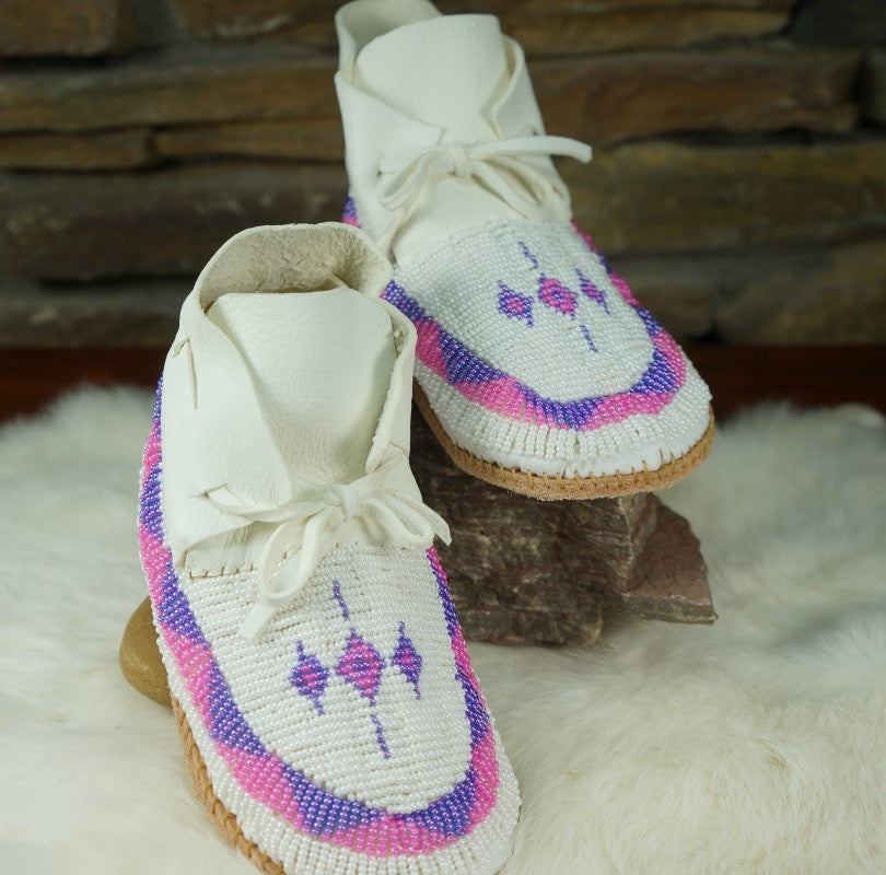 Finest quality authentic beaded mocassins