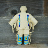 Traditional Buckskin Doll Pair