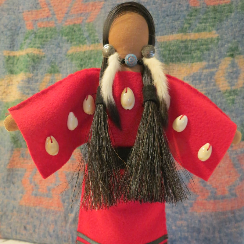 Hudson Bay Trader Doll - Red Ermine