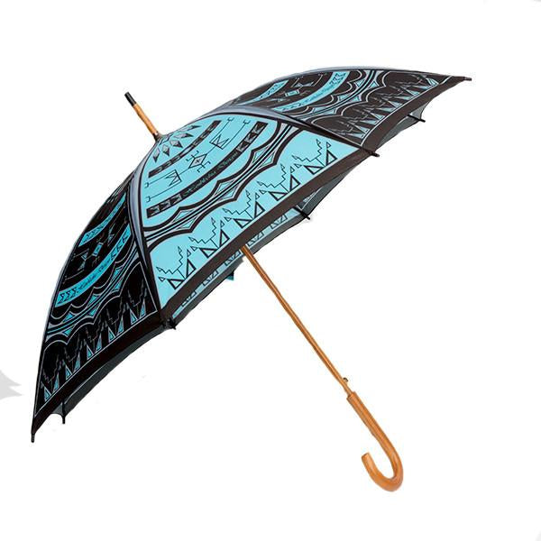 native american umbrella storm desing