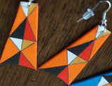 Parfleche Trapezoid Earrings ~ 7 Colors