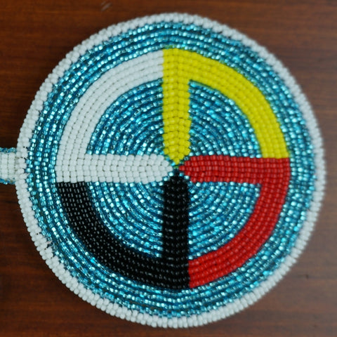 Medicine Wheel Medallion