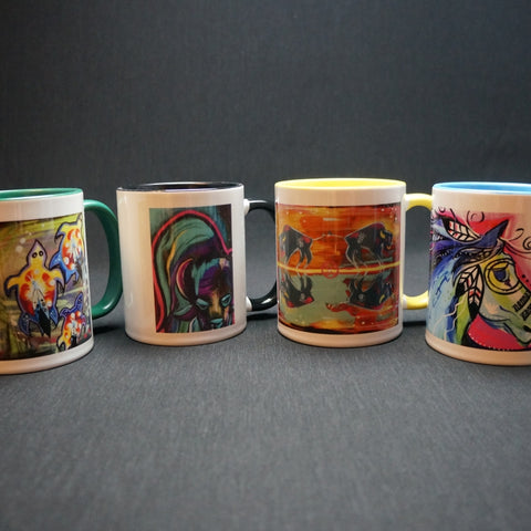Coffee Mug Set - Lakota Values