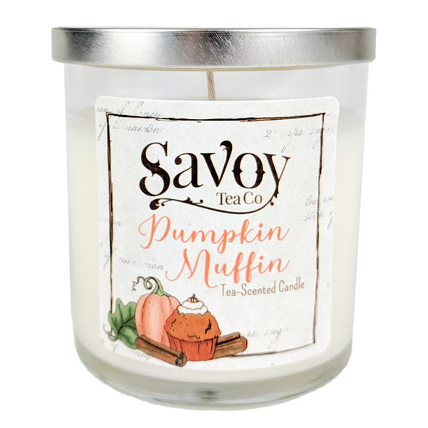 Tea Candle 8oz - Pumpkin Muffin